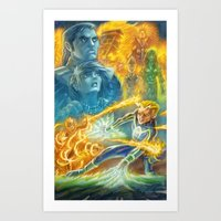 The Folly of Heroes Art Print