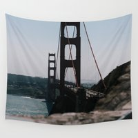 bridge Wall Tapestries featuring Bridge by HMS James