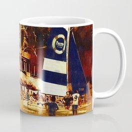 The Beach Crowd Coffee Mug