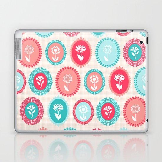Kitsch Cameo Flora Laptop & iPad Skin