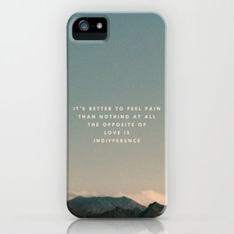 Stubborn Love iPhone Case