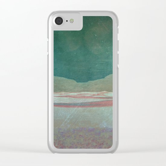 Softly she Lay... Clear iPhone Case