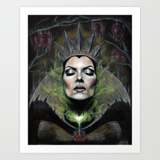 My Queen Art Print