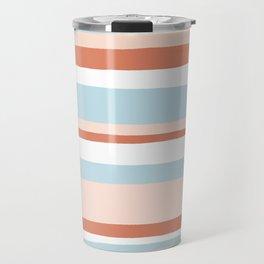 mesa, desert pastel stripes Travel Mug