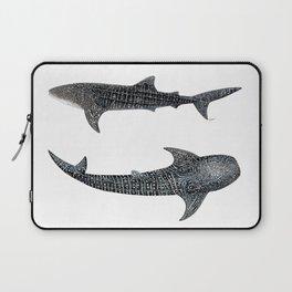 Whale sharks Laptop Sleeve