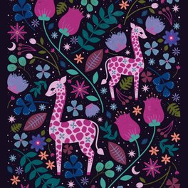 Art Print - Giraffe - Carly Watts