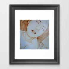 Saturday morning Framed Art Print