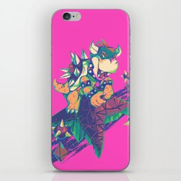 Bowser in the Sky iPhone Skin
