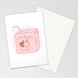 Peach&strawberry tears Stationery Cards