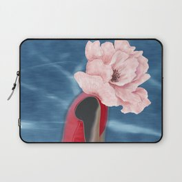 Blooming portrait Laptop Sleeve