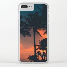 South Beach Heat Clear iPhone Case