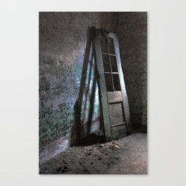 Decrepit Door Canvas Print