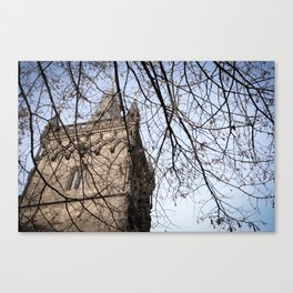 Powder Tower Detail (Prague) Canvas Print