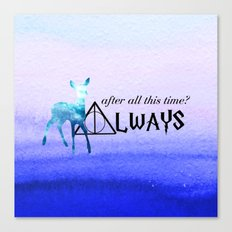 Always Deer Canvas Print