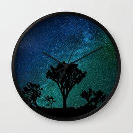 Milky Way Joshua Tree Wall Clock