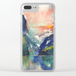 Highlands Clear iPhone Case