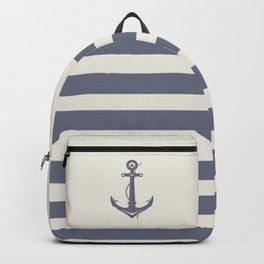 AFE Dark Gray Nautical Anchor Backpack