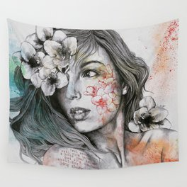 Mascara Wall Tapestry