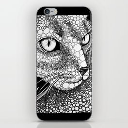 Angry Cat iPhone Skin