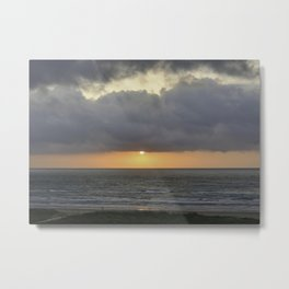 South Padre Island Sunrise 7 Metal Print