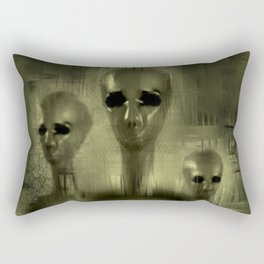Alien Brothers Rectangular Pillow