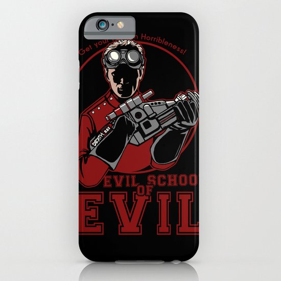 Dr. Horrible's Evil School of Evil iPhone & iPod Case