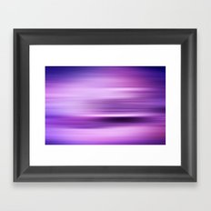WATERSHAPES + COLOURS Framed Art Print