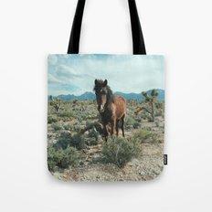 Nevada Desert Horse Tote Bag