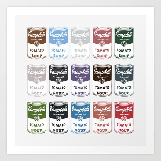 Campbell's Soup - Square Poster Art Print