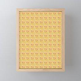 Bright Circles Robayre Framed Mini Art Print