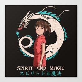 Spirit and Magic Canvas Print