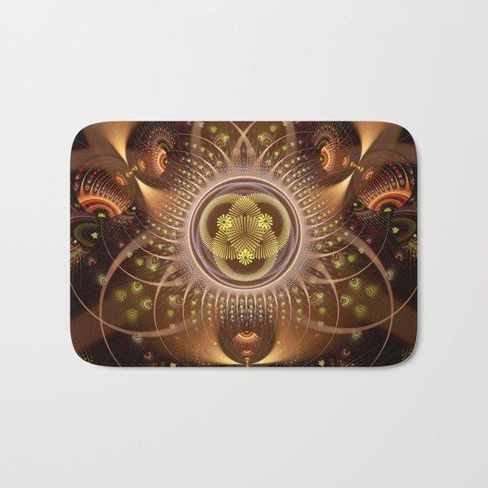 Copper Cosmos Bath Mat