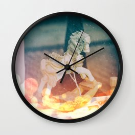 Lost Little Horse Wall Clock
