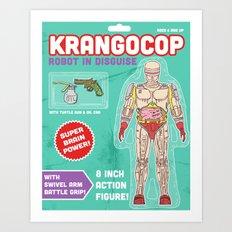 Krangocop: Robot in Disguise  Art Print