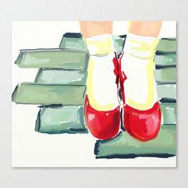 New Shoes Canvas Print