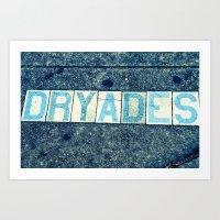 Dryades Art Print