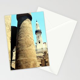 The Mosque of Abu Haggag, Luxor, Egypt Stationery Cards
