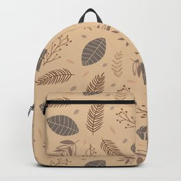 Forest leaves Backpack