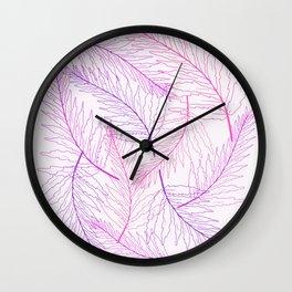 Fern Bright Wall Clock