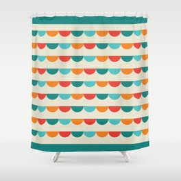 Funfair Retro Shower Curtain