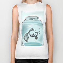 Jar Fish Biker Tank