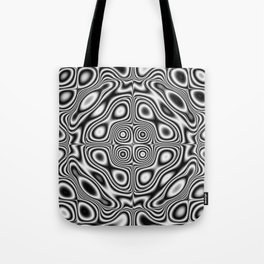 Abstract kaleidoscopic pattern Tote Bag