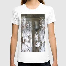 Vector Of Alabaster Effigies At Wentworth Church T-shirt