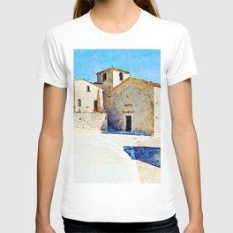 Borrello: church and building T-shirt