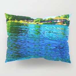 Bright River Flowing Pillow Sham