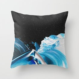 SAPPHIRES & SUFFOCATORS Throw Pillow