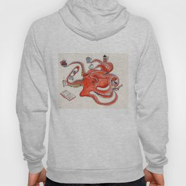 Olive the Octopus Barista Hoody