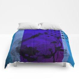 Cool Cross Blue 002 Comforters