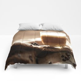 My Coffee in the morning Comforters