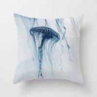 Deep Blue Sea #4 Throw Pillow